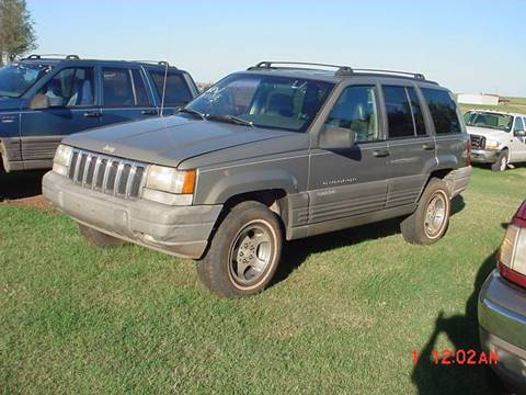 1998 Jeep Grand Cherokee for sale in Hinton, OK