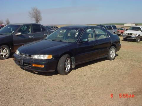 1996 Honda Accord for sale in Hinton, OK