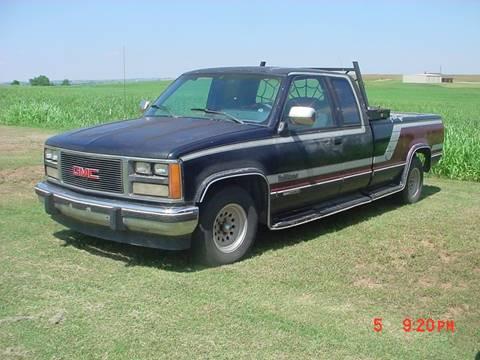1989 GMC Sierra 1500 for sale in Hinton, OK
