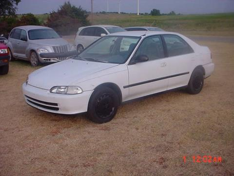 1994 Honda Civic for sale in Hinton, OK