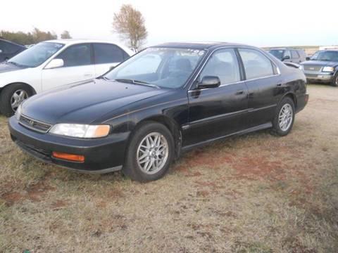 1996 Honda Accord for sale in Hinton, OK
