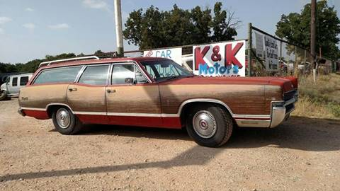 1969 Mercury Marquis for sale at KK Motors Inc in Graham TX