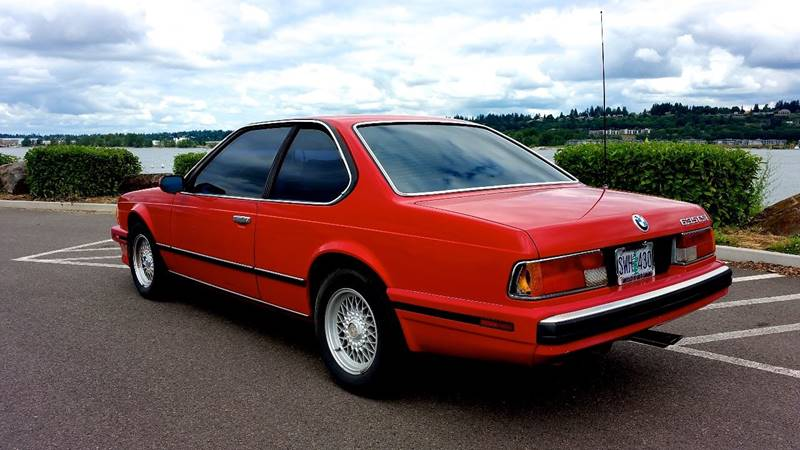 Bmw Series Dr CSi Coupe In Portland OR Northwest Motors - 1988 bmw 6 series