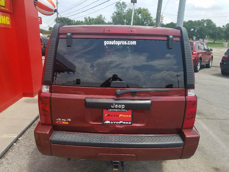2007 Jeep Commander Sport 4dr SUV 4WD In Sevierville TN ...
