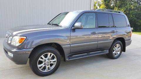 2004 Lexus LX 470 for sale at Octane Dynamics in Lenoir NC