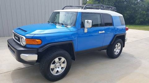 2007 Toyota FJ Cruiser for sale at Octane Dynamics in Lenoir NC