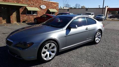 2005 BMW 6 Series for sale at Octane Dynamics in Lenoir NC