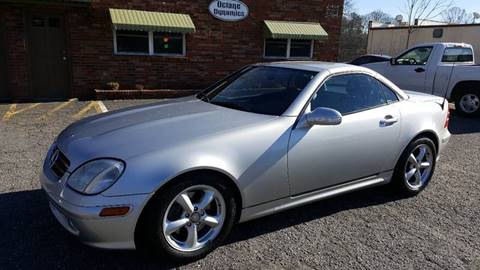 2004 Mercedes-Benz SLK for sale at Octane Dynamics in Lenoir NC