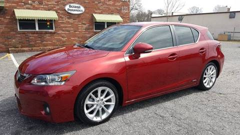 2011 Lexus CT 200h for sale at Octane Dynamics in Lenoir NC