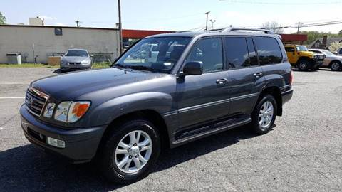 2005 Lexus LX 470 for sale at Octane Dynamics in Lenoir NC