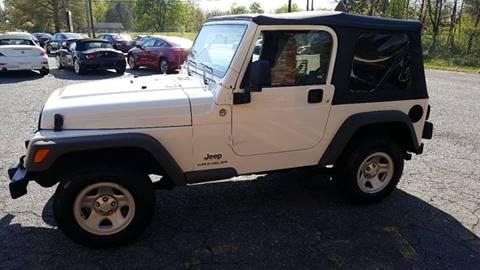 2005 Jeep Wrangler for sale at Octane Dynamics in Lenoir NC