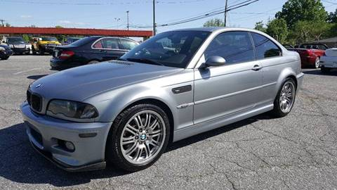 2005 BMW M3 for sale at Octane Dynamics in Lenoir NC