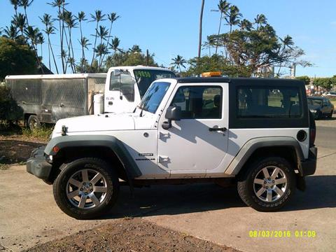 2011 Jeep Wrangler for sale in Kahului, HI