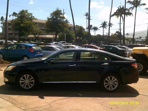 2010 Lexus ES 350 for sale in Kahului HI