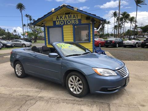 2011 Chrysler 200 Convertible for sale in Kahului, HI