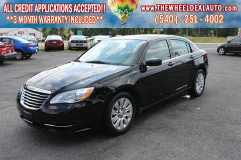 2014 Chrysler 200 for sale in Spotsylvania, VA