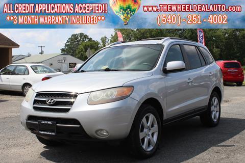 2007 Hyundai Santa Fe for sale in Spotsylvania, VA