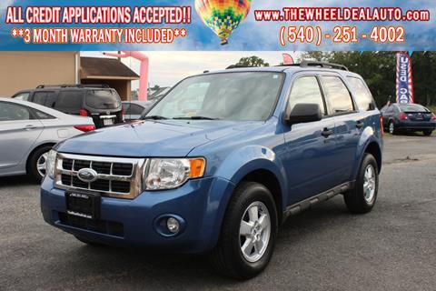 2009 Ford Escape for sale in Spotsylvania, VA