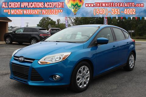 2012 Ford Focus for sale in Spotsylvania, VA