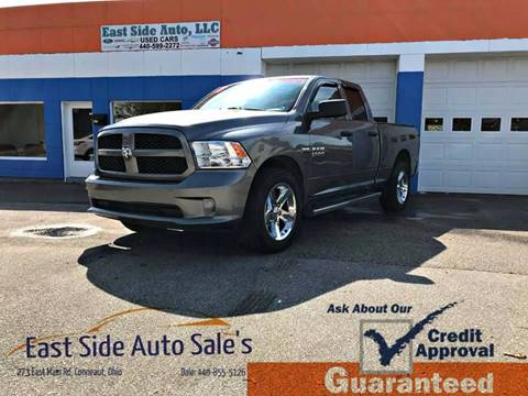 2013 RAM Ram Pickup 1500 for sale at EAST SIDE AUTO SALES in Conneaut OH