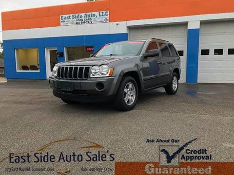 2007 Jeep Grand Cherokee for sale at EAST SIDE AUTO SALES in Conneaut OH