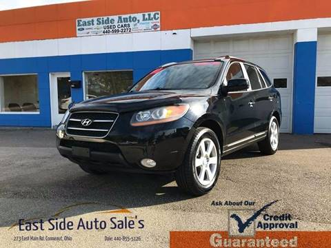 2008 Hyundai Santa Fe for sale at EAST SIDE AUTO SALES in Conneaut OH