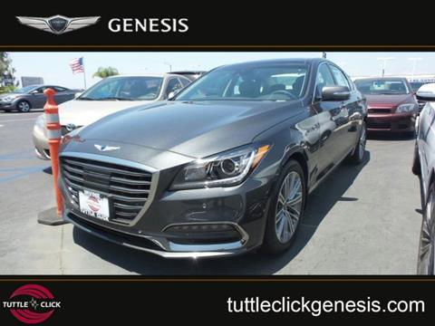 2018 Genesis G80 for sale in Irvine, CA