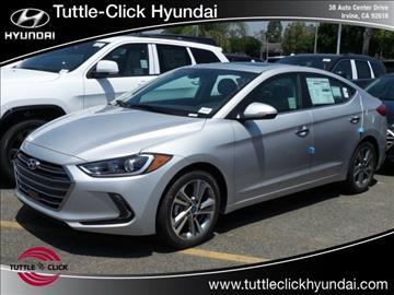 2017 Hyundai Elantra for sale in Irvine, CA