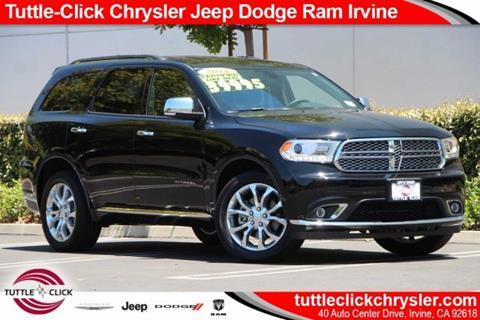 2018 Dodge Durango for sale in Irvine, CA