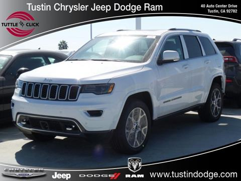2018 Jeep Grand Cherokee for sale in Tustin, CA