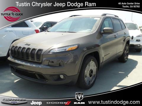 2018 Jeep Cherokee for sale in Tustin, CA