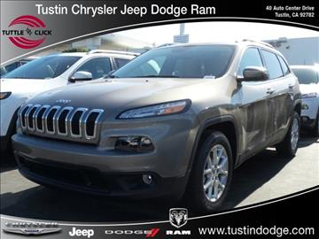 2017 Jeep Cherokee for sale in Tustin, CA