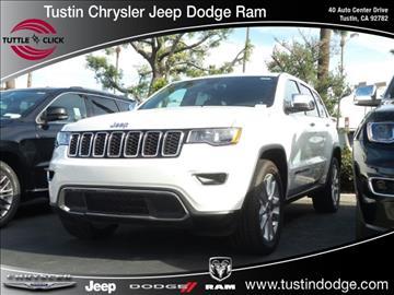 2017 Jeep Grand Cherokee for sale in Tustin, CA