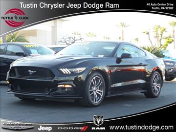 2015 Ford Mustang for sale in Tustin, CA