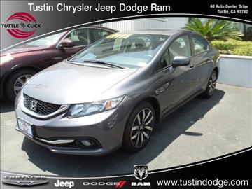 2015 Honda Civic for sale in Tustin, CA