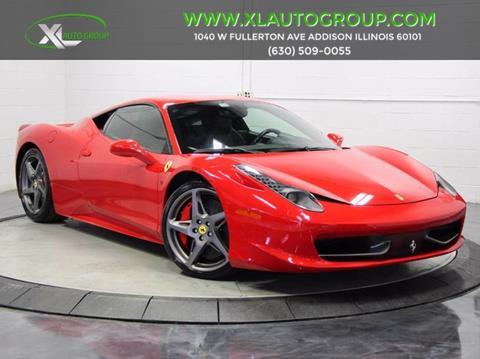 2011 Ferrari 458 Italia for sale in Addison, IL
