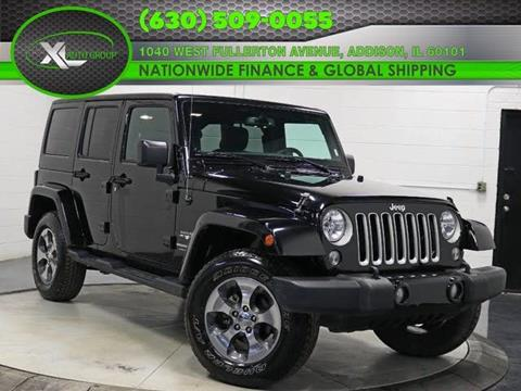2018 Jeep Wrangler Unlimited for sale in Addison, IL