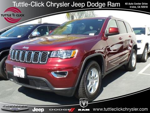 2017 Jeep Grand Cherokee for sale in Irvine, CA