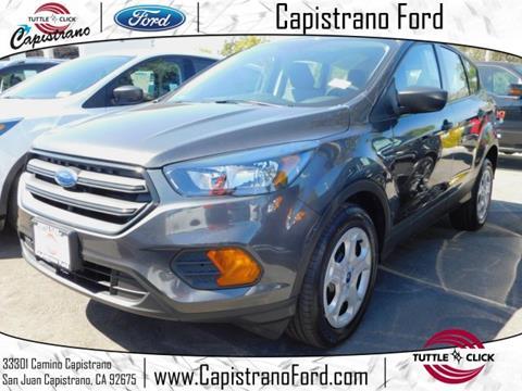 2018 Ford Escape for sale in San Juan Capistrano, CA