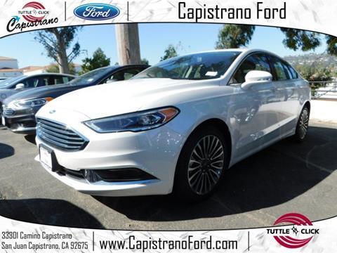 2018 Ford Fusion for sale in San Juan Capistrano, CA