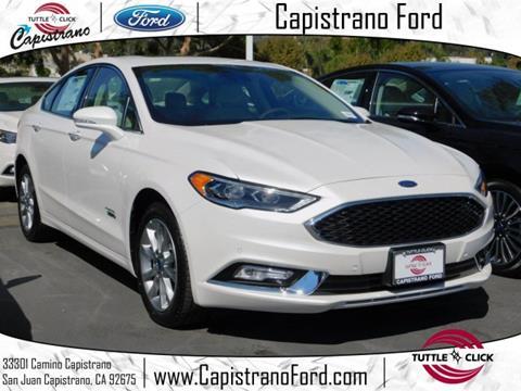 2018 Ford Fusion Energi for sale in San Juan Capistrano, CA