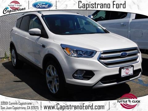 2017 Ford Escape for sale in San Juan Capistrano, CA