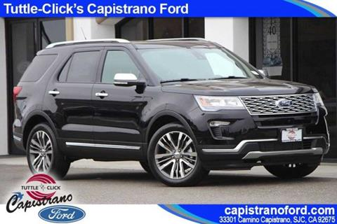 2018 Ford Explorer for sale in San Juan Capistrano, CA