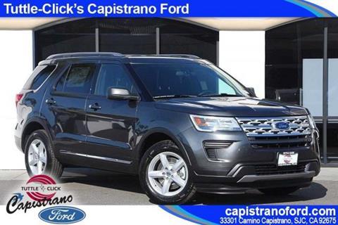 2019 Ford Explorer for sale in San Juan Capistrano, CA