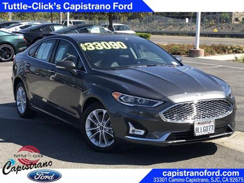 2019 Ford Fusion Energi for sale in San Juan Capistrano, CA