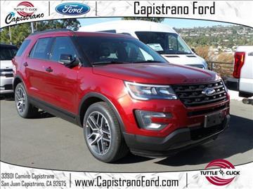 2017 Ford Explorer for sale in San Juan Capistrano, CA