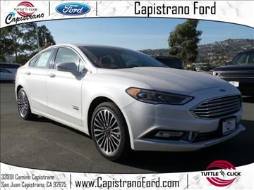 2017 Ford Fusion Energi for sale in San Juan Capistrano, CA