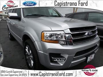2017 Ford Expedition EL for sale in San Juan Capistrano, CA