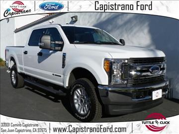 2017 Ford F-250 Super Duty for sale in San Juan Capistrano, CA