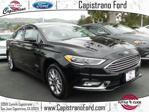 2017 Ford Fusion Energi for sale in San Juan Capistrano, CA